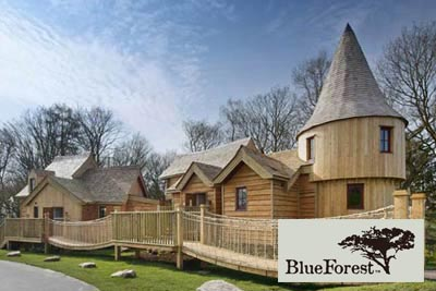 creative outdoor spaces - Enchanted Village Alton Towers